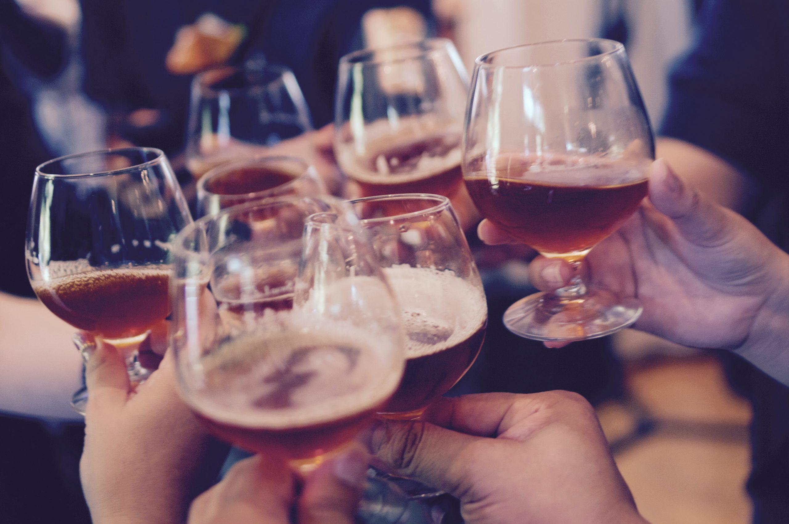 Image showing Homebrewed beers